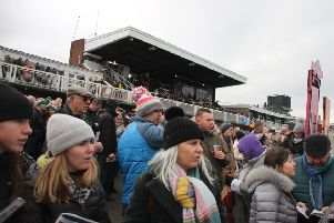 The packed crowd on Boxing Day. Picture: Peter Thompson EMN-191230-095326002