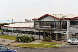 The Sensata premises in Carrickfergus. INCT 08-011-PSB