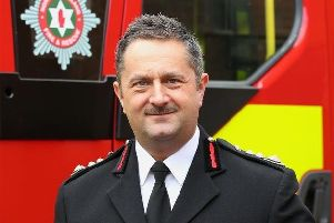 Former NIFRS chief officer Gary Thompson