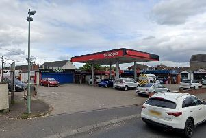 Doagh filling station. Pic by Google.
