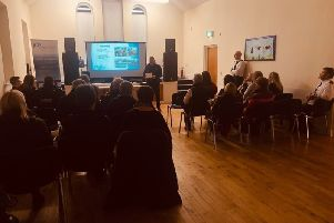 A public meeting on road safety was held in Glengormley.