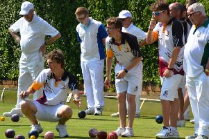 Action from Northants' win over Lincolnshire