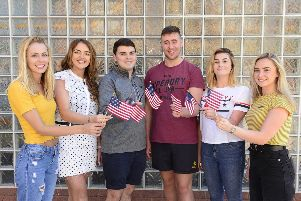 Down students Leah Colgan (Kilkeel), Sinead Sweeney (Castlewellan,) Jack Rice (Dromore), Christopher Beattie ( Saintfield, Ballynahinch), Amy Gray  (Banbridge)  and Shannon Ferguson (Ballynahinch) have all been selected to take part in prestigious British Council programme, and will spend a year studying business in the USA.  Study USA is managed by the British Council on behalf of Department of Economy. For more information on the programme, visit http://nireland.britishcouncil.org or follow on Twitter: BCouncil_NI.