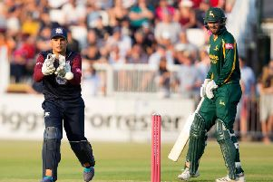 Ricardo Vasconcelos is staying at Northants (picture: Kirsty Edmonds)