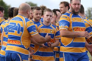 Callum Semple receives the plaudits after the match.