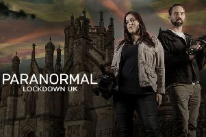 Presenters Nick Groff and Katrina Weidman spent 72 hours on 'lockdown' at the 'Skegness Hell House'.