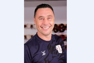 England boxing coach Mick Driscoll, who represented City of Portsmouth during his career as a boxer