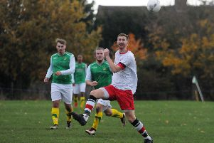 Sam Smith put Central Ajax into a 2-1 lead at AFC Solihull.