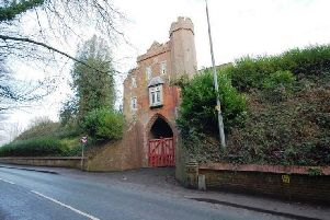 The Cemetery Lodge in London Road, Louth.