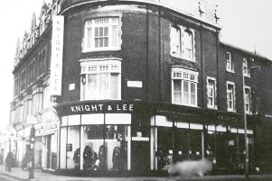 Knight & Lees on the corner of Elm Grove and Grove Road South 1949.