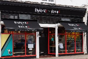 Bangerz 'n' Brewz in Victoria Road South, Southsea. Picture: Keith Woodland (190119-1)