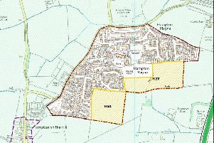 The 131 homes are set for the site marked H51 in the Local Plan. Image from Warwick District's Local Plan.