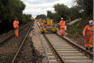 Work to start on the rail line at Lurgan