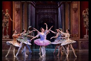 Moscow City Ballet will perform Sleeping Beauty at the Kings Theatre on Sunday.