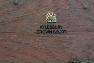 The trial is taking place at Aylesbury Crown Court