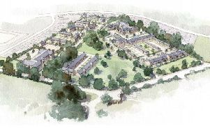 A plan has been submitted to build a retirement complex with an estate of sheltered homes and a 70-bed care home.