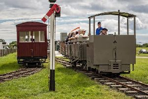 Lincolnshire Coast Light Railway in the Skegness Water Leisure Park, is a runner-up in a major category in the 2019 Heritage Railway Association Awards.