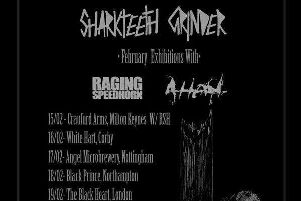 Sharkteeth Grinder are heading on tour