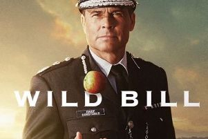 Rob Lowe, as Wild Bill. A crop of the image Rob Lowe shared via his Instagram account.
