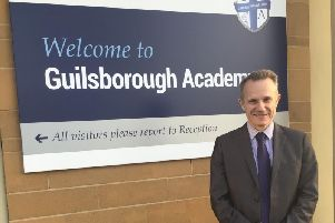 John Ditchburn, 58, arrived at Guilsborough Academy as a newly qualified teacher 35 years ago.