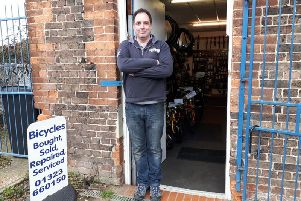 Guy Soper, owner of CycleTech Eastbourne