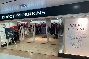 Much-loved Dorothy Perkins is closing down at the end of next month.