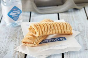 The Greggs vegan sausage roll is now in all of the main branches in Northampton