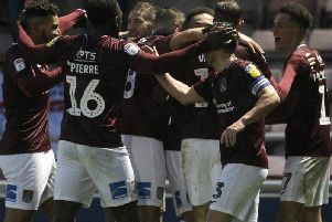 Will the Cobblers be celebrating today?
