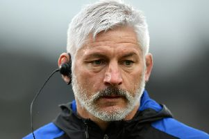 Bath boss Todd Blackadder saw his side suffer a late defeat at Saints