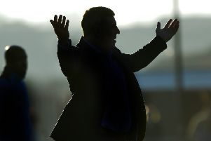 Eastbourne Borough manager Mark McGhee watches his side against Wealdstone in his first game in charge at Priory Lane (Photo by Jon Rigby) SUS-190225-110033008