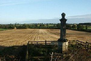 The monument to the Battle of Naseby