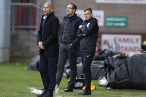 Keith Curle on the touchline at Gresty Road. Picture: Kirsty Edmonds