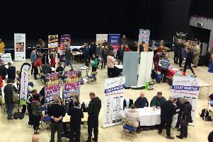 Hundreds of people were said to have attended the recent Skegness jobs fair. Image supplied.