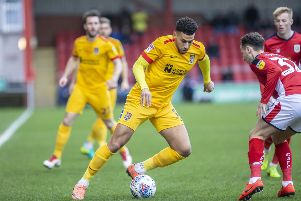 Daniel Powell has only started five league games since Keith Curle was appointed in October