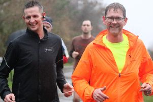 The new Men Get Running course starts on Saturday, March 16 - and only costs 30 for the whole 16 weeks  (Image courtesy of Nick Wolstenholme)