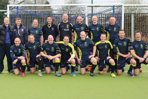 Rugby & East Warwickshire Hockey Club's Over 40s team have reached the national cup final