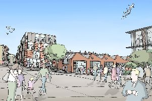 An artist's impression of the new Vulcan Works project