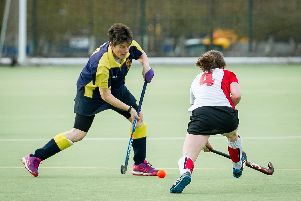 Action from the Ladies 4th XI game with Atherstone 3rds