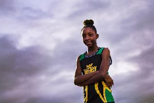 Savannah Morgan - officially the UK's fastest 11-year-old.