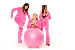 Josephine Partridge, Julie Coombe and Vicki Michelle star in Hormonal Housewives.