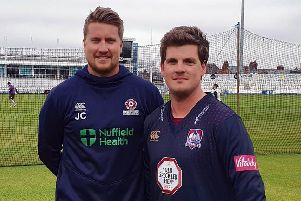 Josh Cobb and Rob Newton have been named as Northants vice-captains