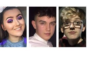 On St Patrick's Day, a crush outside a disco in Cookstown killed Lauren Bullock, Connor Currie and Morgan Barnard.