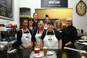 Staff at the Good Loaf All Saints all completed a six-week work placement aimed at stopping the cycle of long-term unemployment and crime.
