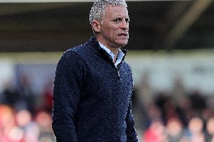 Keith Curle was furious with his side's display on Saturday