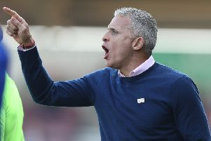 No more Mr Nice Guy: Cobblers boss Keith Curle. Picture: Pete Norton/Getty Images