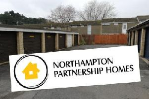 Northampton Partnership Homes is knocking down hundreds of garages to build 200 new homes across the town