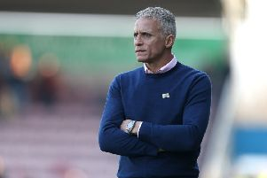 Keith Curle has had his players in at 9am every day this week. Picture: Pete Norton
