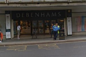 Debenhams reportedly has over 720million of debt.