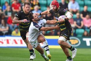 James Haskell will miss Saints' game at Harlequins