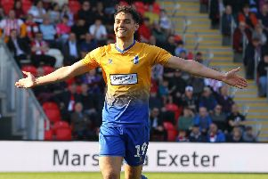 Tyler Walker has scored 20 goals for Mansfield this season